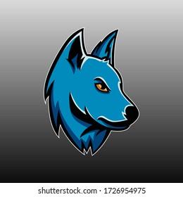 Fox logo vector mascot design