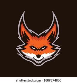 Fox Mascot Logo Design Templates