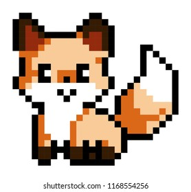 Fox Pixel Images Stock Photos Vectors Shutterstock