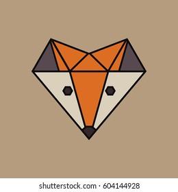 Fox. Vector illustration