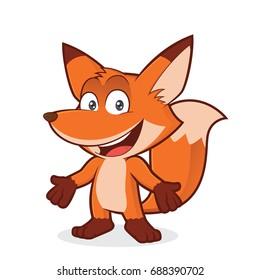 Fox in welcoming gesture