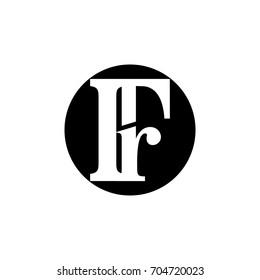 fr letter logo