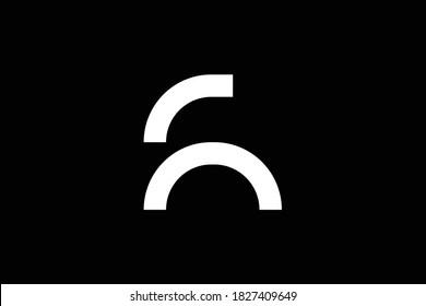 FR letter logo design on luxury background. RF monogram initials letter logo concept. FR icon design. RF elegant and Professional white color letter icon design on black background. F R RF FR