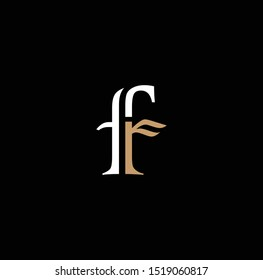 FR letter logo and icon design