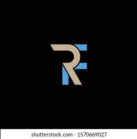 FR or RF logo and icon designs