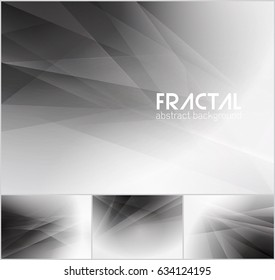 Fractal abstract background series. Low poly vector background series, suitable for design element and web background