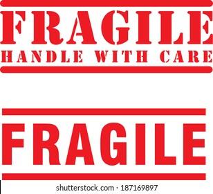 Fragile Icon- Vector