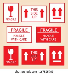 Fragile Shipping Labels