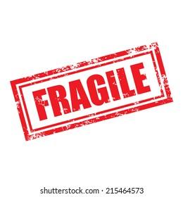 fragile stamp effect