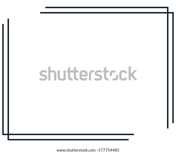 Image Vectorielle De Stock De Page De Bordure De Cadre Image