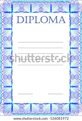 frame diploma certificate certificates blank congratulations stock