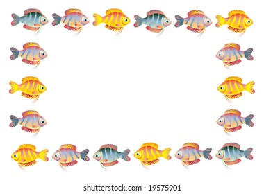 frame from a fishes
