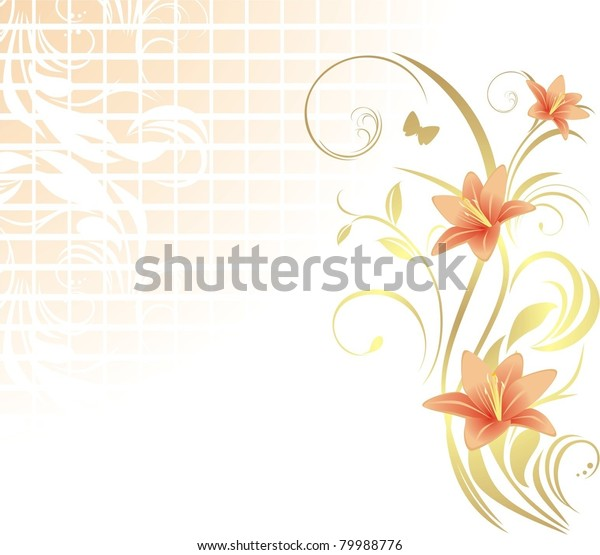 frame-lilies-pattern-design-vector-600w-