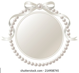 pearl frame images stock photos vectors shutterstock