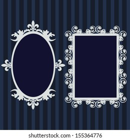 Frame set,mirror set, border set
