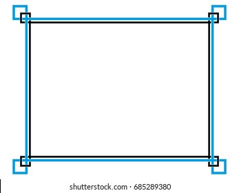 simple border images  stock photos   vectors shutterstock art deco vector patterns art deco vector borders