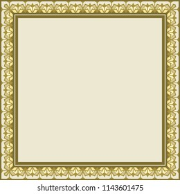 frame as square geometric pattern, can be used as a background, invitation, greeting card