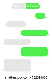 Frame for text sms chat