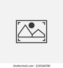 Frame vector icon