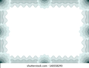 Frame for voucher, certificate, diploma