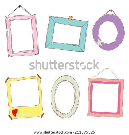 Frames Kids Stock Vector (Royalty Free) 211395325 - Shutterstock