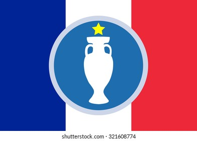 Football Cup Trophy France Euro 2016
