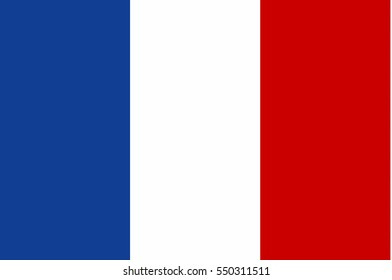 France flag vector icon.
