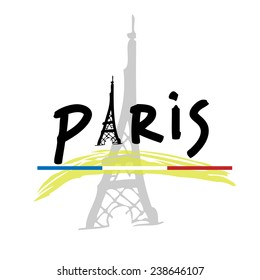 Paris France Cartoon Images Stock Photos Vectors Shutterstock