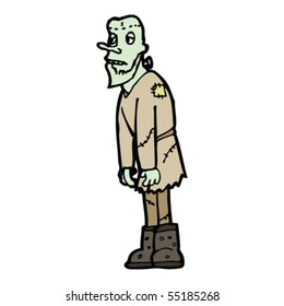 frankenstein's monster cartoon