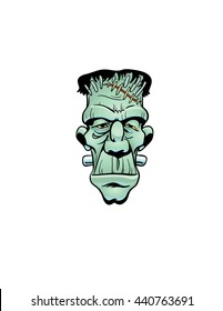 Frankenstein's monster face