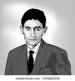 Franz Kafka( 1883 - 1924) was a German-speaking Bohemian Jewish novelist and short story writer.