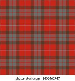 Fraser Weathered Tartan. Seamless pattern for fabric, kilts, skirts, plaids