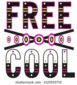 FREE AND COOL DESİNG GLİSTER SİNG VECTOR