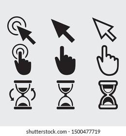 Free Cursor Pointer Vector sign hand