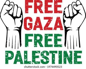 Free Gaza Free Palestine Design