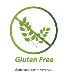 Free Gluten Vector Icon
