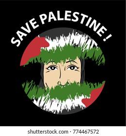 27 Gambar Kartun Palestina Keren Gambar Kartun