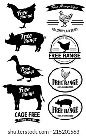 Free Range Meat Labels