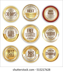 Free shipping and best quality golden labels collection
