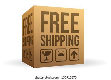 Free Shipping Box
