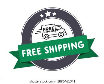 free shipping icon truck delivery