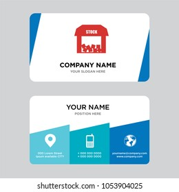 Id card design stock images stock photos vectors shutterstock free stock business card design template visiting for your company modern creative and reheart Images