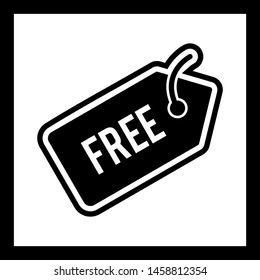Free Tag Icon In Trendy Style Isolated Background