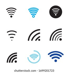free wifi illustration logo vector