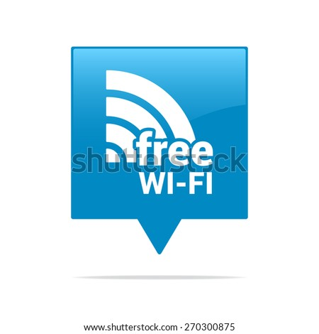 Free Wifi Tag Stock Vector (Royalty Free) 270300875