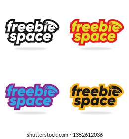 Freebie Space Portfolio Stock Logo Design