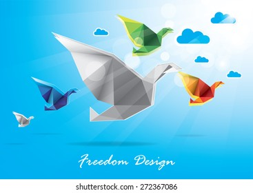 Freedom fly design