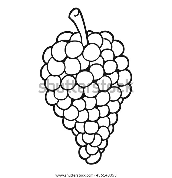 View White Grapes Cartoon Images Wallpapers