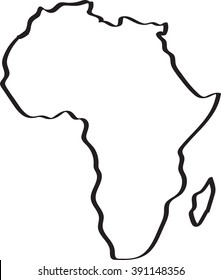 Map Of Africa Drawing.Africa Continent Images Stock Photos Vectors Shutterstock