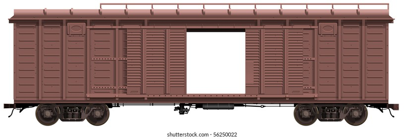 the freight car